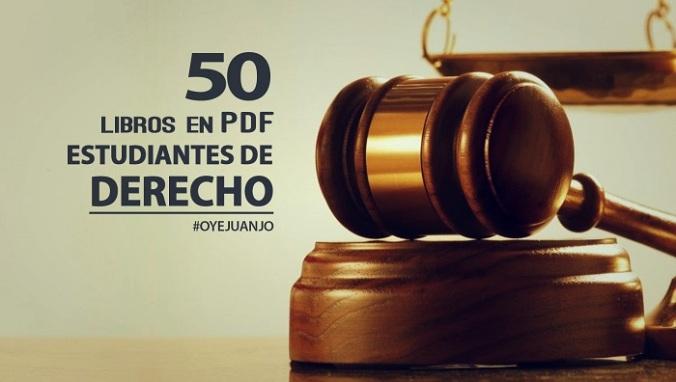 50 libros pdf estudiantes derecho