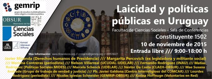 Laicidad y políticas públicas en Uruguay