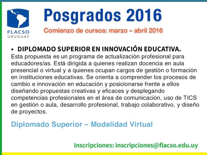 Diplomado Superior en Innovación Educativa