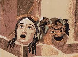 Máscaras del teatro clásico grecorromano