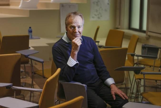 Peter Senge en la Universidad Camilo José Cela. / KIKE PARA